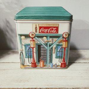 Vintage 90s Coca Cola Tin